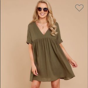 Story Olive Baby Doll Dress